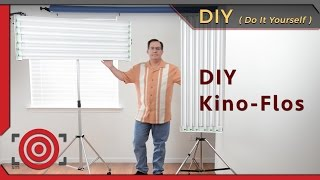 DIY Fluorescent Photography Studio Lighting with T8 Bulbs(This is a DIY fluorescent studio lighting photography set-up that is perfect for beauty shots and headshots. You can build it yourself for under $400 dollars., 2012-07-24T05:04:59.000Z)