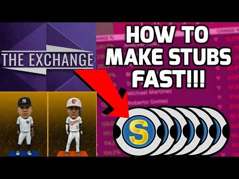 How To Make TONS Of Stubs In Minutes! *Best Method* MLB The Show 18 Diamond Dynasty