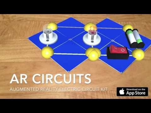 AR Circuits - Augmented Reality Electric Circuit Kit