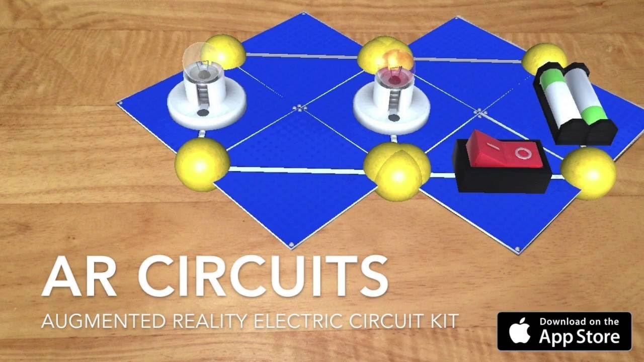Ar Circuits Augmented Reality Electric Circuit Kit Youtube Electrical