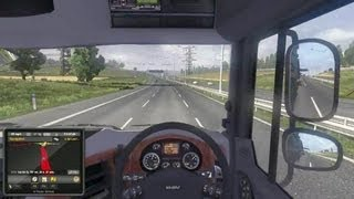 Euro Truck Simulator 2 - UK to Italy Gameplay