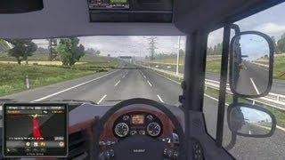 Euro Truck Simulator 2 - UK to Italy Gameplay