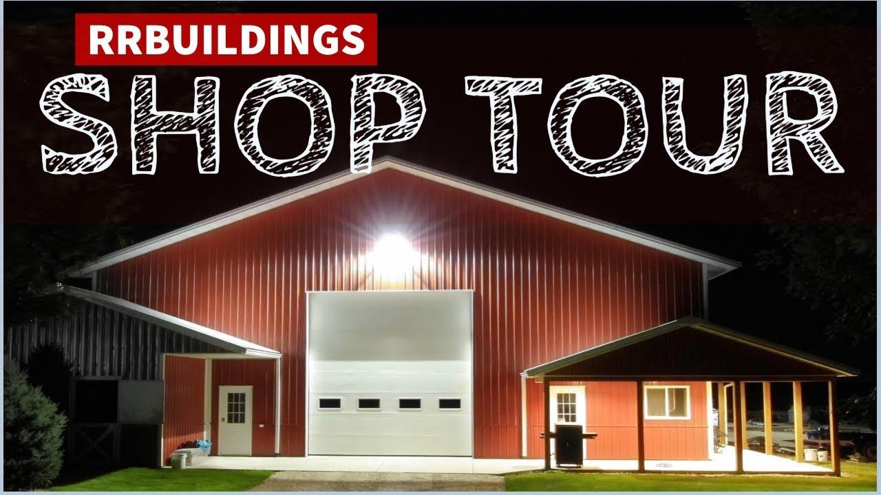 Rr Buildings Shop Tour Youtube