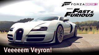 Ganhei o Bugatti Veyron! \o/ Top Speed | Velozes e Furiosos | Forza Horizon 2 [PT-BR]