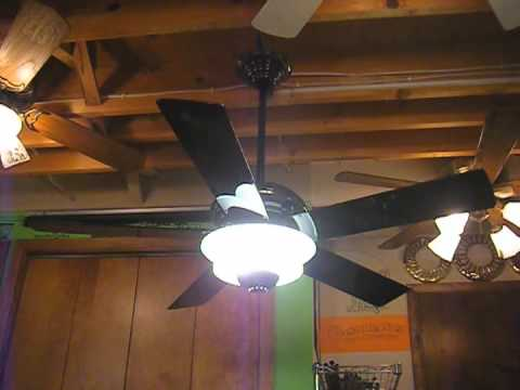 Casablanca Halogen Star Ceiling Fan 5 Blade Remake Youtube