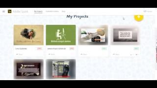 AdobeSpark kurze Videos erstellen/2