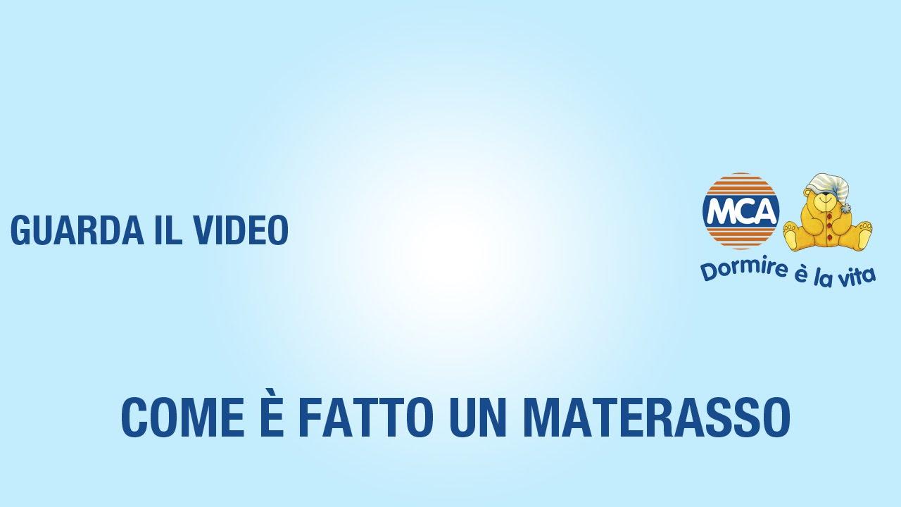 MCA PRODUZIONE DIRETTA MATERASSI  YouTube