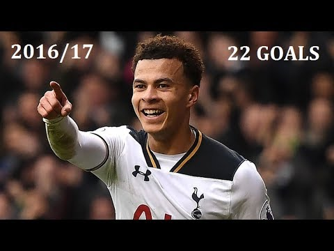 Dele Alli GOALS - All of Dele's goals from the 2016/17 Season