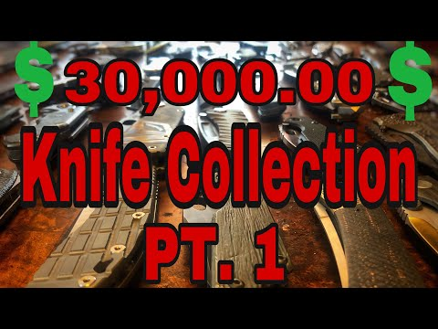 30,000.00 knife collection Part 1