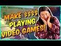 Make Money Playing Video Games!