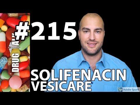 SOLIFENACIN (VESICARE) - PHARMACIST REVIEW - #215