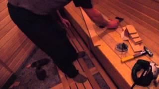 Делаем настил в бане/dachniiotvet.galaktikalife TV/Knora(Ролик снят на даче, пгт Икша, 30 км по Дмитровскому шоссе., 2015-12-09T14:42:23.000Z)