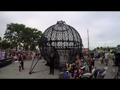 Rock 'n Wheels® 8/18/16-Urias Family Globe of Death