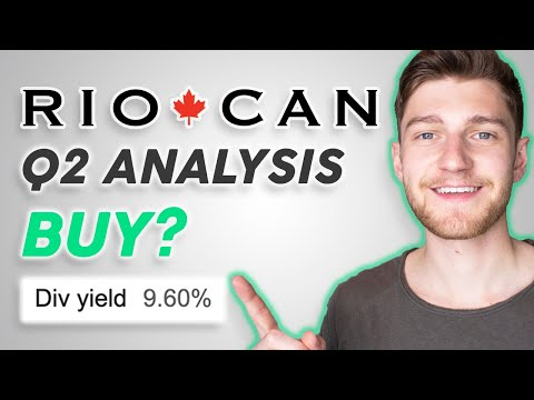 RioCan REIT Q2 Analysis - Is It A BUY? (Stock Market Investing)