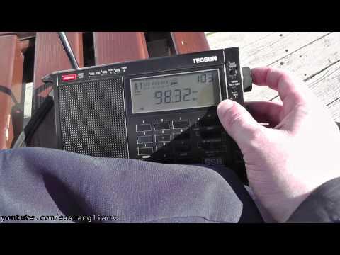 FM Radio Stations Heard Band Scan At Llandudno Pier North Wales
