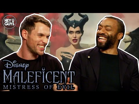Chiwetel Ejiofor & Ed Skrein On The Important Messages In Maleficent 2 Mistress Of Evil