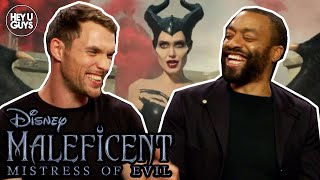 Chiwetel Ejiofor amp Ed Skrein on the important messages in Maleficent 2 Mistress of Evil