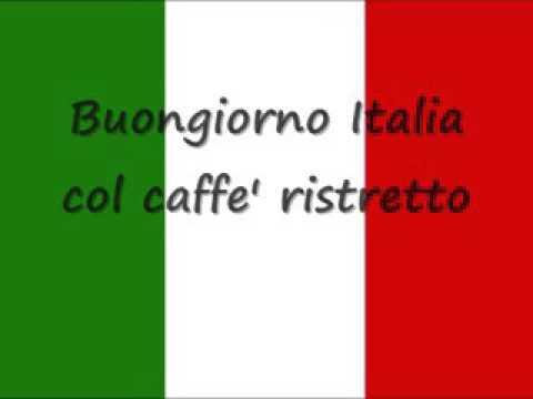 L'ÍTALIANO     LASCIATEMI CANTARE  MUSICA Y LETRA  ITALIANA