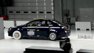 361. Mitsubishi Evo X small overlap crash test