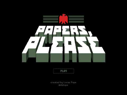 Papers, Please: Theme Song