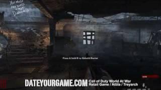 Call of Duty 5 World at War Walkthrough - Nazi Zombies - Nacht der Untoten Part 1- Gameplay HD