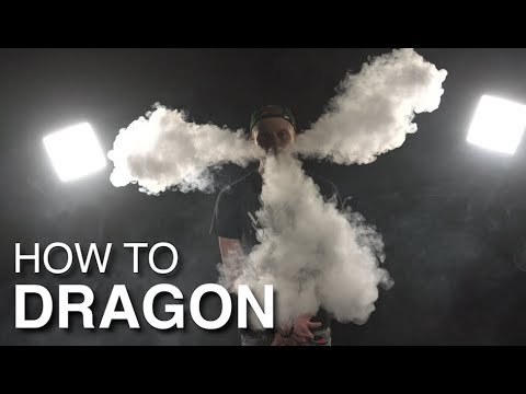 VGOD Vape Trick Tutorials : How To Dragon