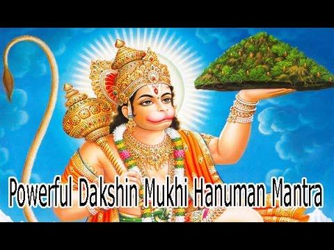 Mantra To Remove Exorcise Evil Spirits   Powerful Dakshin Mukhi Hanuman Mantra
