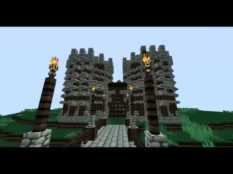 Small Castle Keep Timelapse (Minecraft)