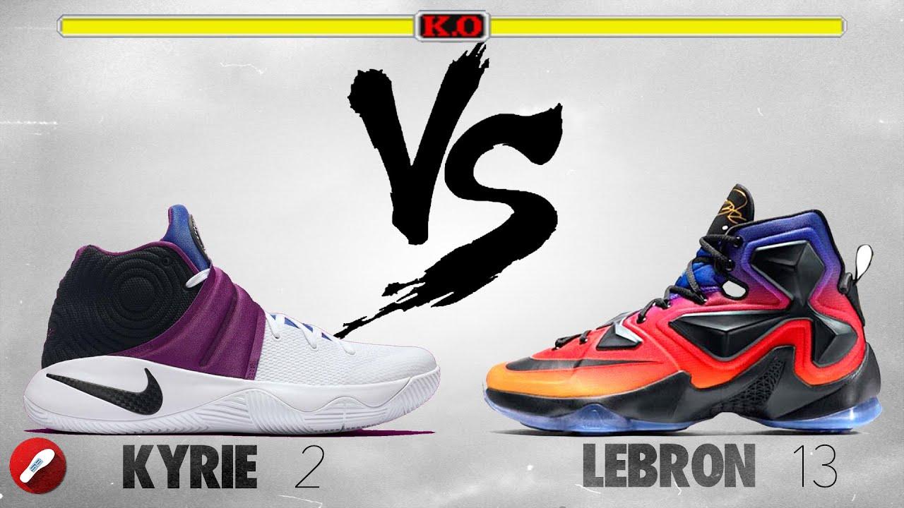 promo code 07bdc 07155 Nike Kyrie 2 vs Nike Lebron 13!