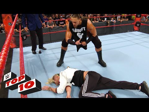 Thumbnail: Top 10 Raw moments: WWE Top 10, June 19, 2017