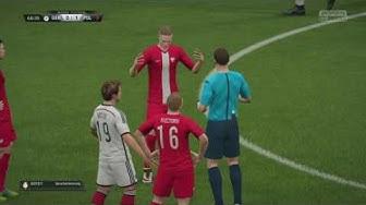 Deutschland gegen Polen EM 2016 /FIFA 16 Prognose