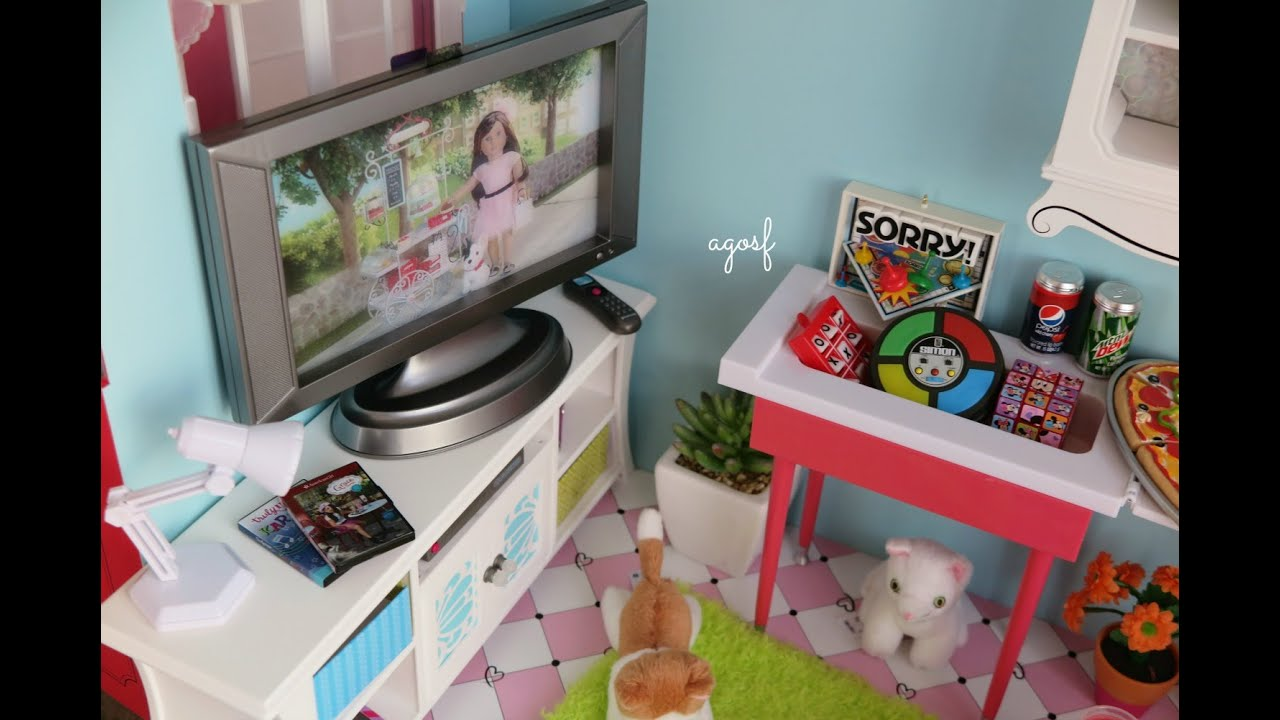 Superb Setting Up An American Girl Doll Media Room   YouTube Part 10