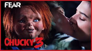 Chucky Spies On Andy & Kristen | Child's Play 3