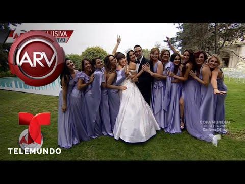 Los famosos felicitan a Marlene Favela | Al Rojo Vivo | Telemundo