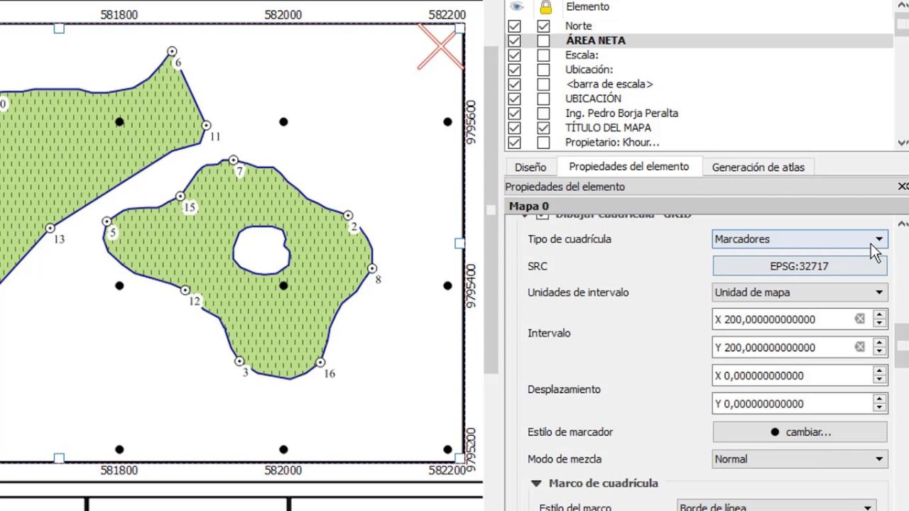 Elaboraion de plantillas y mapas en QGIS - YouTube