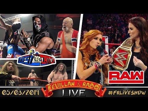 [FRLive] Ouest Catch à Plouasne ⊕ Review De WWE RAW ⊕ NEWS...
