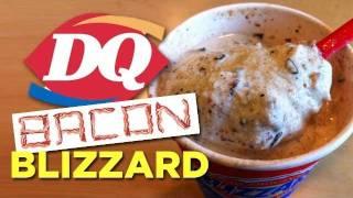 Bacon Blizzard from DQ: Secret Menu Item (Ep449)