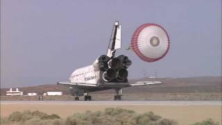 Space Shuttles Landing in California at Dryden