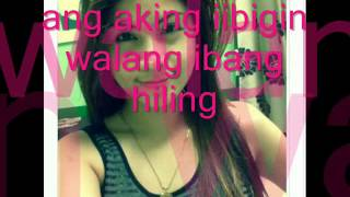 hiling by missy [ tagalog rap love song]