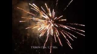 Fajerwerki TXB654 MIX 150s 1.2