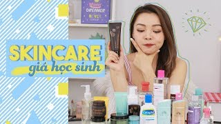 Dưỡng Da Giá Học Sinh ♡ Affordable Back To School Skincare ♡ TrinhPham