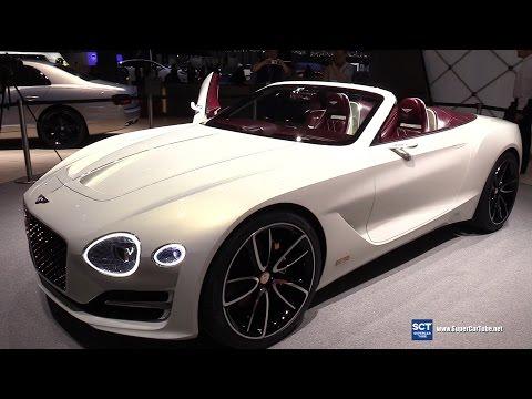 2018 Bentley EXP12 Speed 6e Reveal - Exterior Interior Walkaround - 2017 Geneva Motor Show