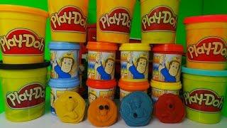 Firefighter Fireman Sam Play-Doh Dough Unboxing + How to Basic make Fireman Sam figures