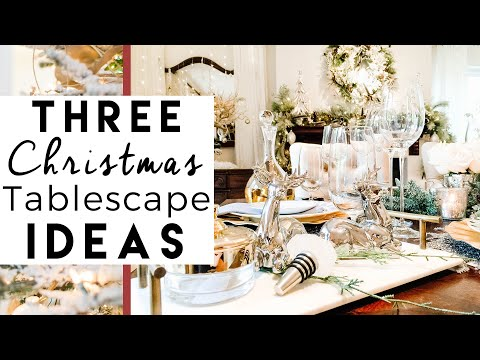 3 Christmas Table Setting Decorations | Day 11 of 25 Days of Christmas!