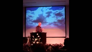 David Hogan at Valley Harvest Church Saturday night