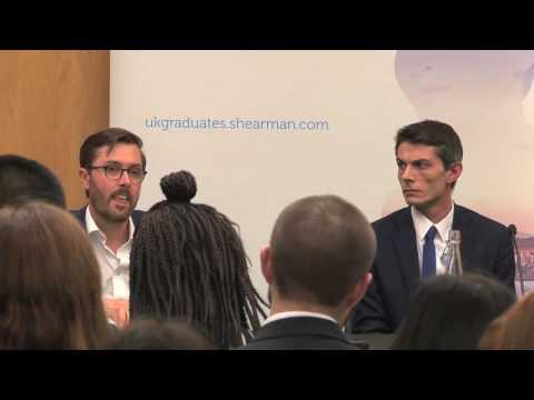 The Legal Cheek and Shearman & Sterling LLP UK Graduates EU referendum debate