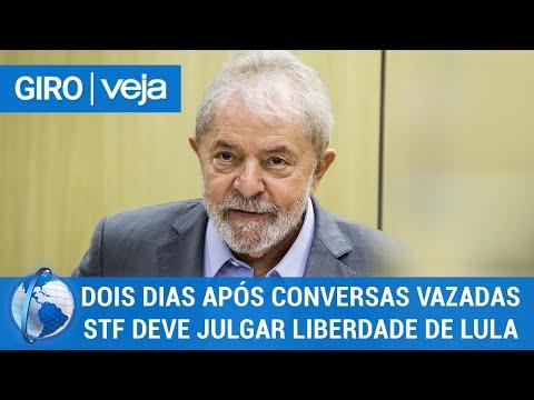 Giro Veja: Dois dias após conversas vazadas STF deve julgar liberdade de Lula
