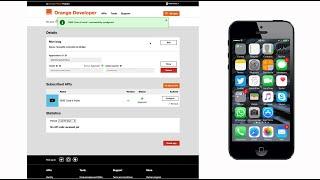 Tutoriel API Orange SMS