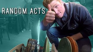 Flash Mob Cleaning with Stuart Edge - Random Acts