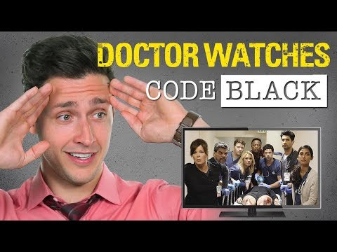 Real Doctor Reacts to CODE BLACK | Medical Drama Review | Doctor Mike